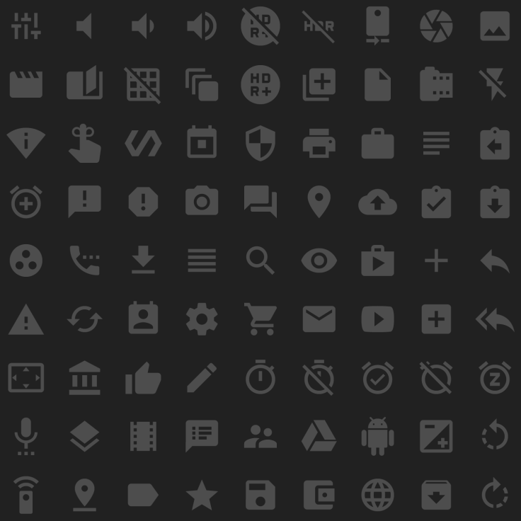 Material icons – Google Design – The WordPress C(h)ronicle