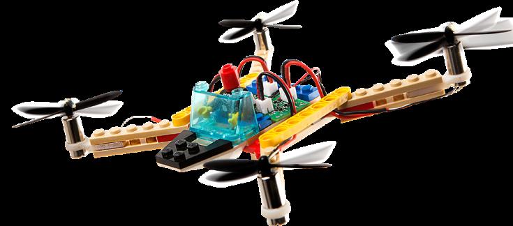 Flybrix DIY LEGO Drone Kit